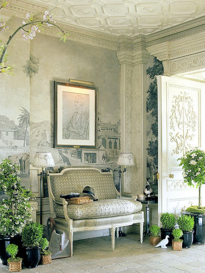 "Howard Slatkin's ""Fifth Avenue Style"" Gallery, or Entry Hall."