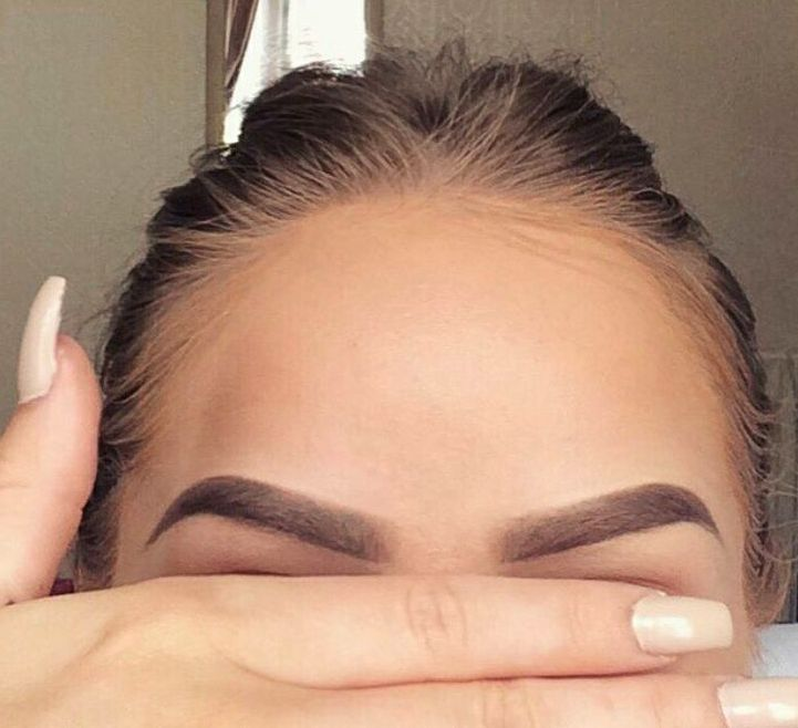 Eyebrow perfection.