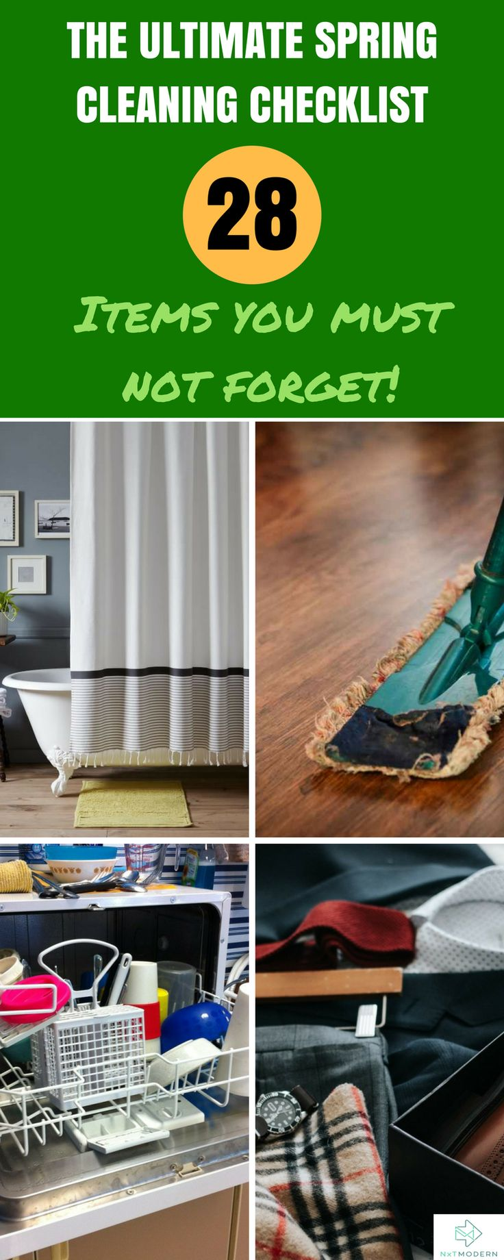 The Ultimate Spring Cleaning List: 28 Items You Must Not Forget