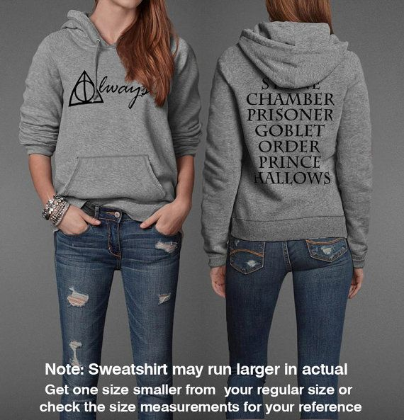 Harry Potter immer inspiriert Halloween Unisex Sweatshirt Pullover Hoodie
