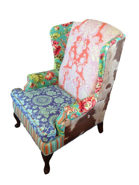 Les 25 meilleures id es concernant meubles en peau de for Chaise peau de vache
