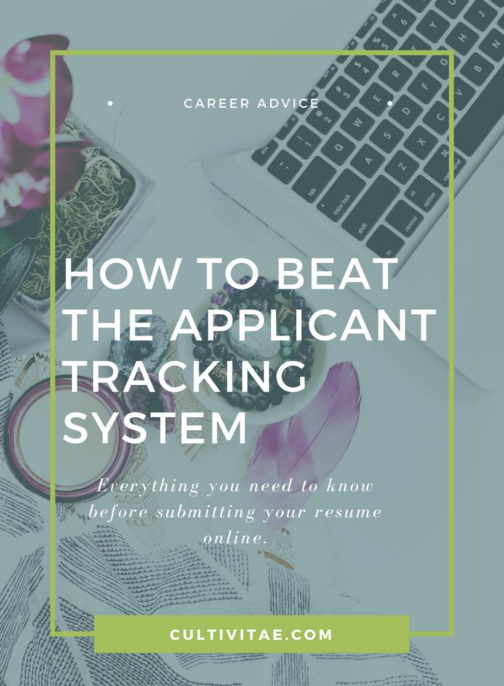 94 best CultiVitae Career Advice images on Pinterest Career - resume tracking system