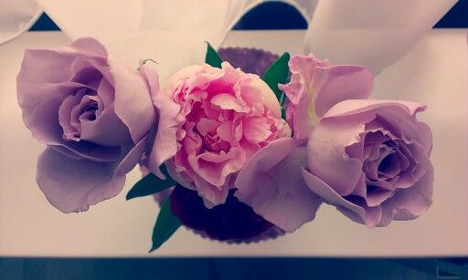 Levander Roses and peony