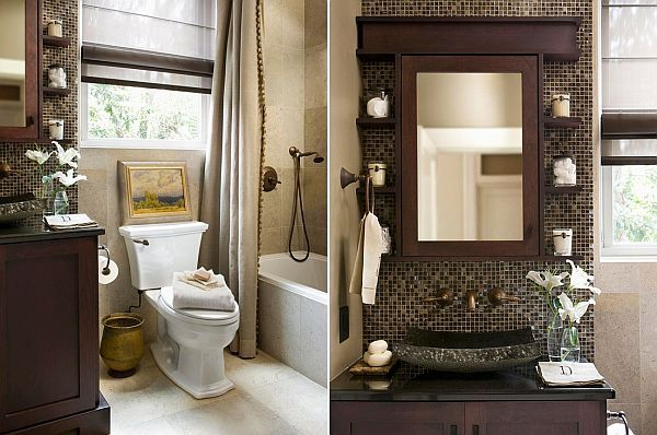 Two small bathroom design ideas colour schemes ideas for for Small bathroom color schemes