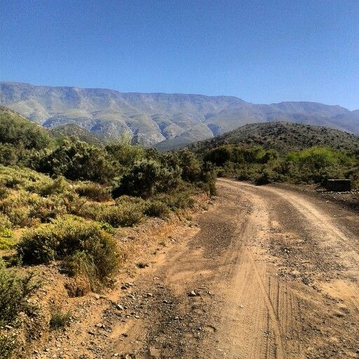 Touwsberg Nature Reserve near Ladismith in the Karoo South Africa