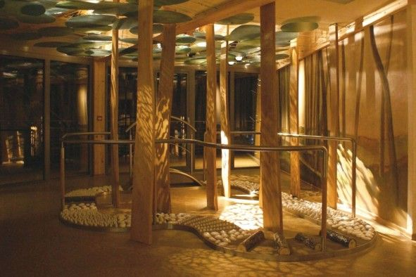 taosensa spa highlights klafs for hotels baths spa sauna and wellness inspirasjon. Black Bedroom Furniture Sets. Home Design Ideas