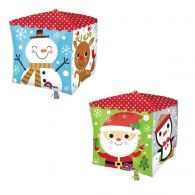 Christmas Character Cube Balloons $22.95 (Inflated) U29400
