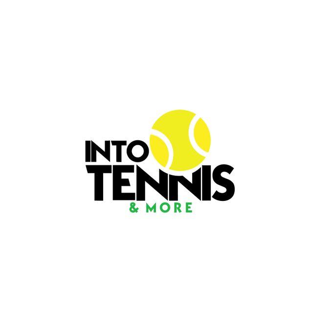 Create a fresh, modern, tennis store logo for Into Tennis