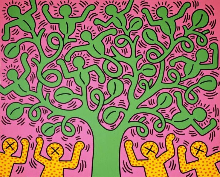 keith haring communicating through cartoons essay Contemporary art with a message essay sample there are many contemporary artists in the world that provoke conversation on controversial topics keith haring, francis bacon and barbara kruger are a few examples of artists with a message.