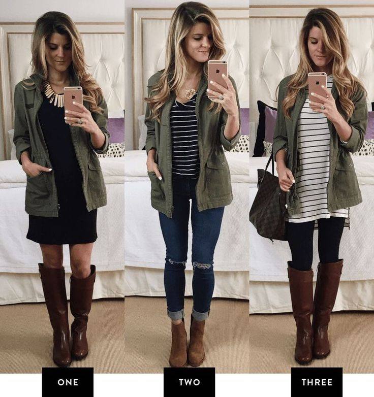 Love all of these pairings with this awesome jacket!