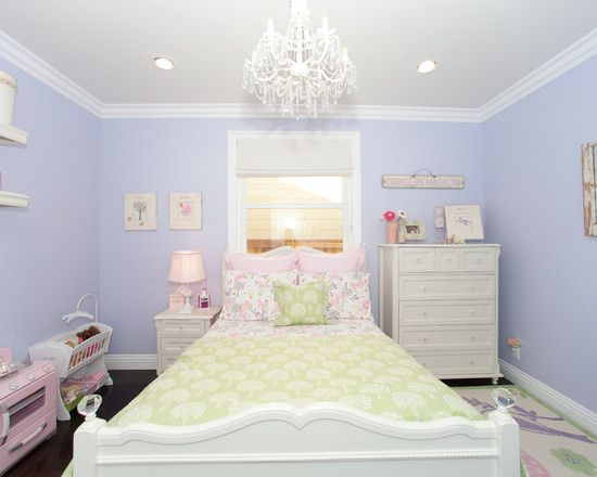 Bedroom Design, Traditional Kids Bedroom With Charming White Bedroom  Ceiling Lights Also Light Purple Wall