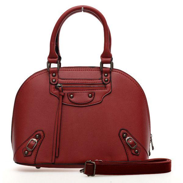 VK Designer Faux Leather Tote Handbag - Shoulder Bag