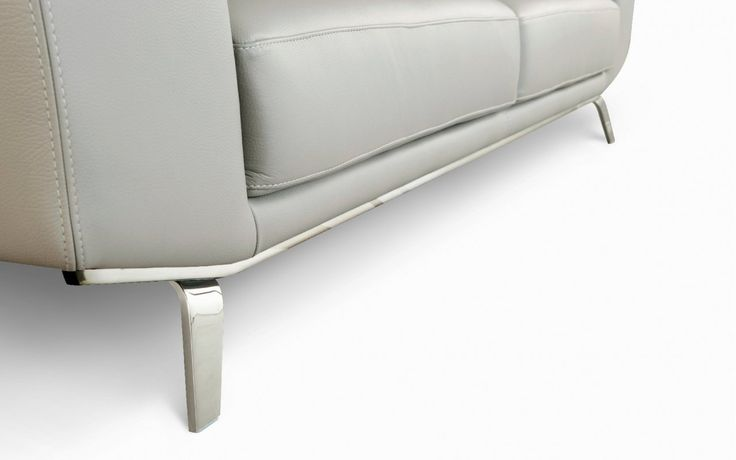 Cut and folded metal legs perle sofa canap for for Catalogue canape roche bobois
