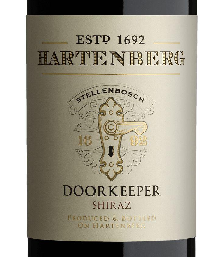 Hartenberg - Doorkeeper Creative package design, Package design - wine label