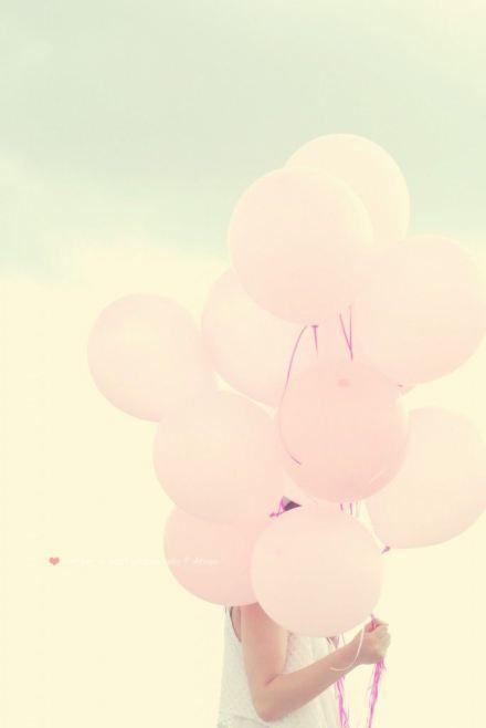 Las fotos con globos, una de mis muchas obsesiones actuales