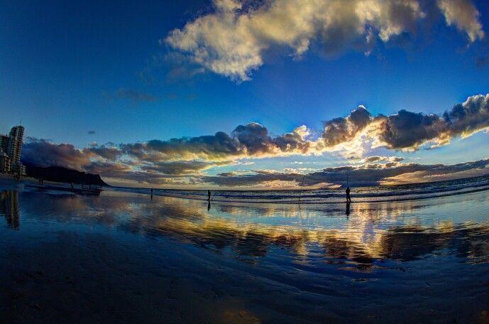 Gorgeous sunset. Strand, SA