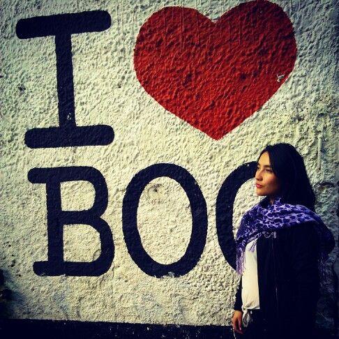 @Gotalejandra en uno de sus lugares favoritos #Bogotá #pic #love #Wall #Colombia