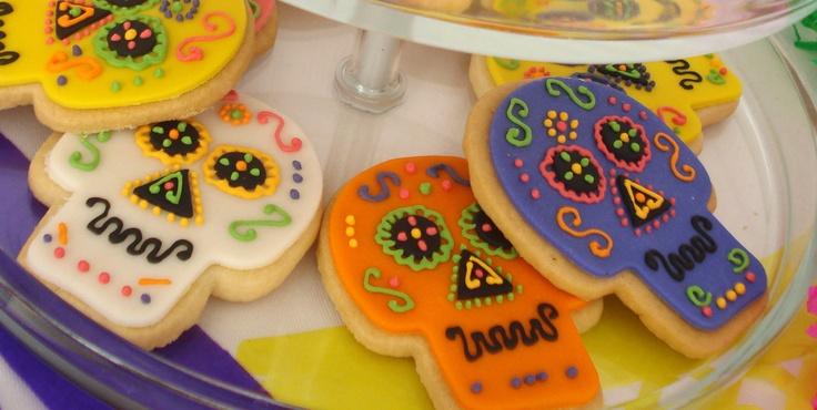 Día de muertos cookies