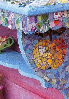 Kaffe Fasset colori mosaico  NOTE:  For more good ideas, see my other related boards: DIY &  CRAFTS, THRIFT STORE DECOR, UNFINISHED BASEMENT DECORATING.
