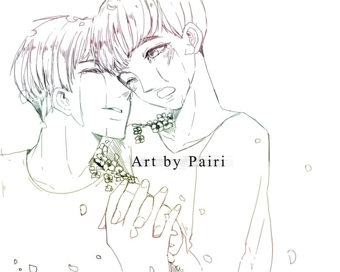 Fanart baekdo  [Don't cry] art by me