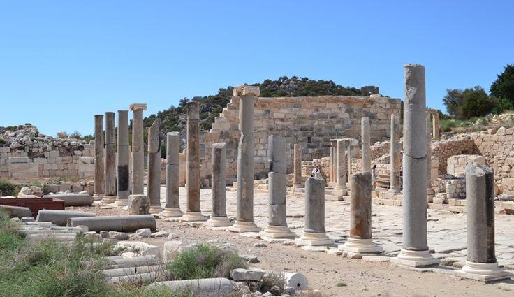 Patara beach ruins in Fethiye http://uzumlu-info.com