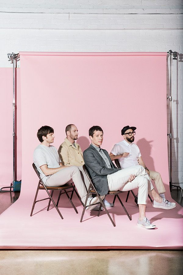 OK GO: UPSIDE OUT by Adi Goodrich, via Behance
