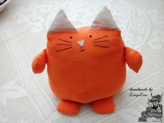 Handmade by Lissy Lou: Henry the Cat / Crookshanks (inspired by the Harry Potter Series)