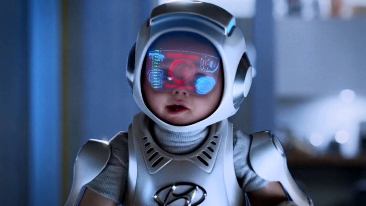 A cute baby in an Exoskeleton suit heroically demonstrates his amazing abilities. The abilities never could be carried out if you're an ordinary baby. The ba...