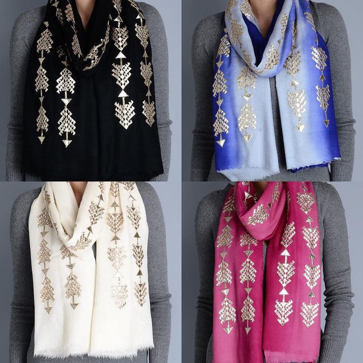 The arrow #GotaPatti #Cashmere #Shawl @richadesigns Which one do you want? #handmade #handcrafted #craft #gold #silver #embroidery #embellished #jaipur #rajasthan #musthave #shopping #shop #onlineshop #aztec #ethnic #indian #indianwear #buynow #blue #black #pink #offwhite #handwoven