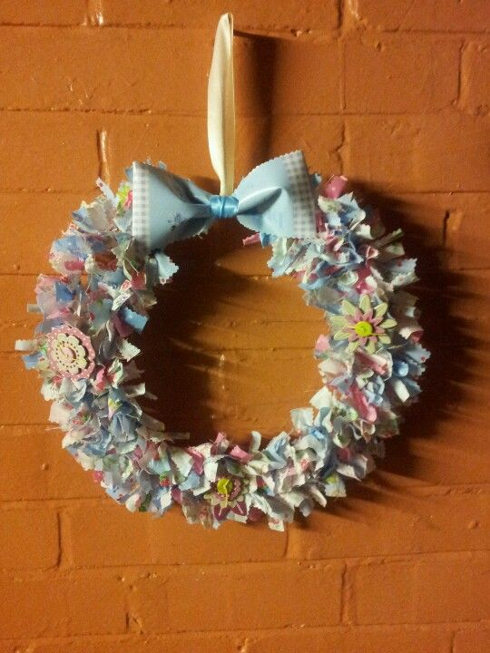 Rag wreath