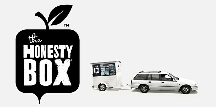 The Honesty Box Brand identity and cart build