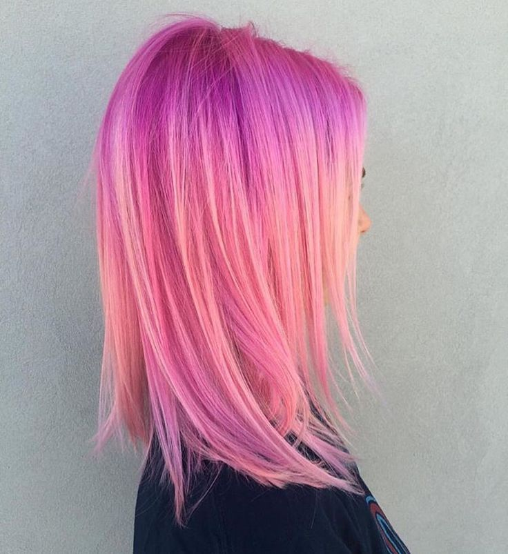 Hår Beauty: Fantasy Unicorn Purple Violet Red Cherry Pink yellow Bright Hair Colour Color Coloured Colored Fire Style curls haircut lilac lavender short long mermaid blue green teal orange hippy boho ombré woman lady pretty selfie style fade makeup grey white silver trend trending multi confetti   Pulp Riot
