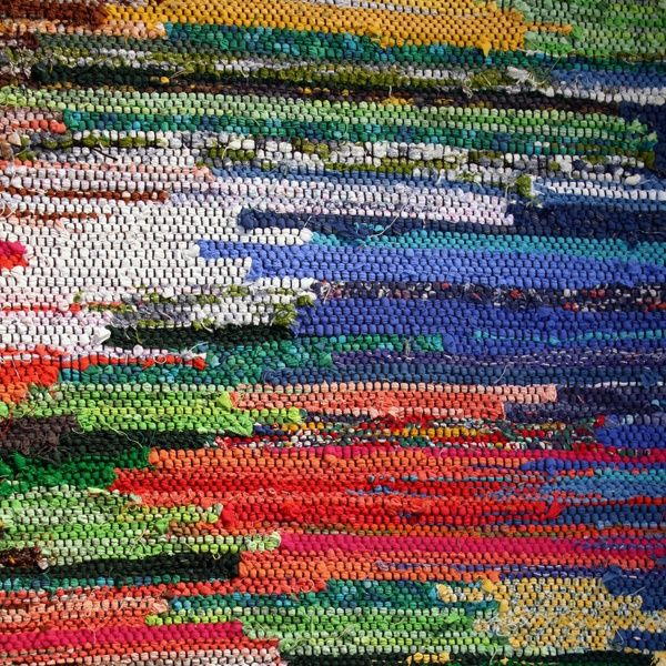 This Rag Rug Looks Like A Painting