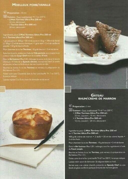 Gateau choco marron tupperware