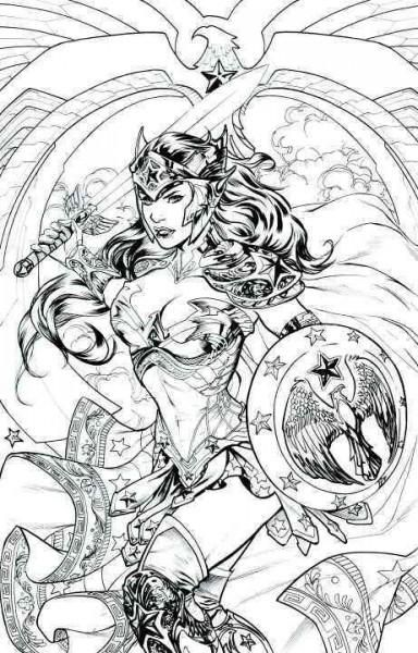 Now you can color DC Comics and all of its most popular characters your way with…