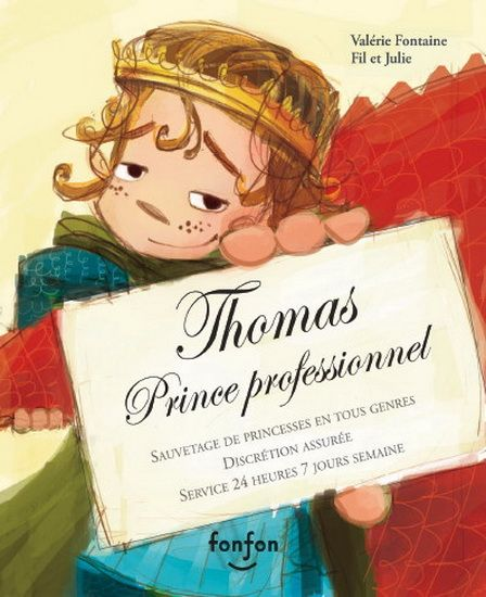Thomas, prince professionnel - VALÉRIE FONTAINE - FIL