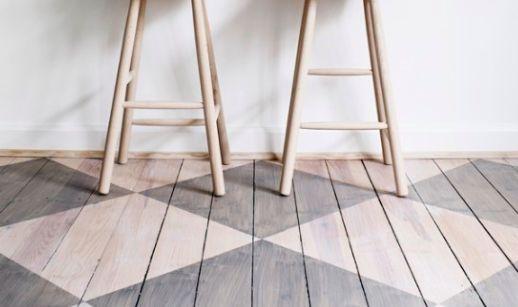 bleached floors: Harlequin Floors, Design Ideas, Wooden Floors, Diamonds Patterns Floors, Floors Interiors, Floors Design, Paintings Wood, Paintings Floors, Floors Decor