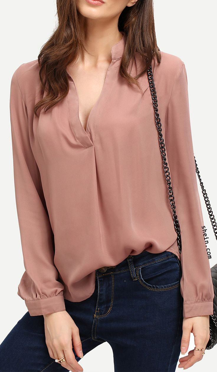 Long Sleeve Loose Blouse Collect.