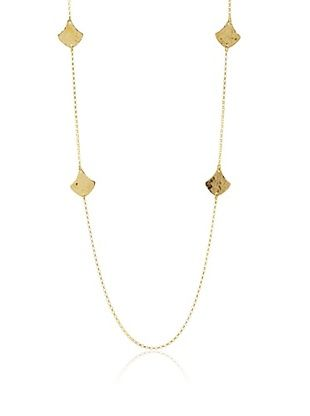 62% OFF Argento Vivo Hammered Diamond Station Necklace