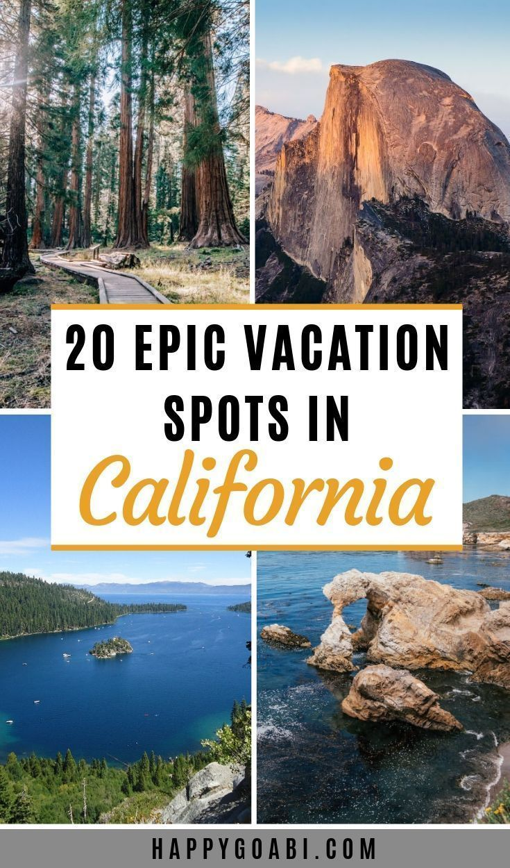 Epic Spots In Cali California Vacation Spots Cool Places To Visit Best Places To Vacation