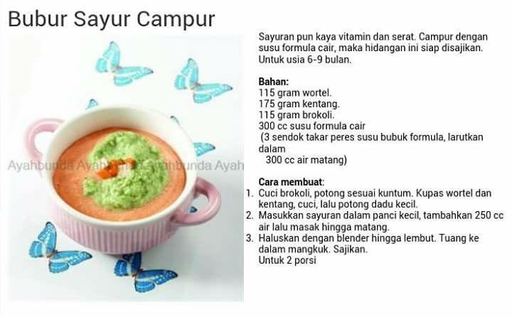 Bubur Sayur Campur