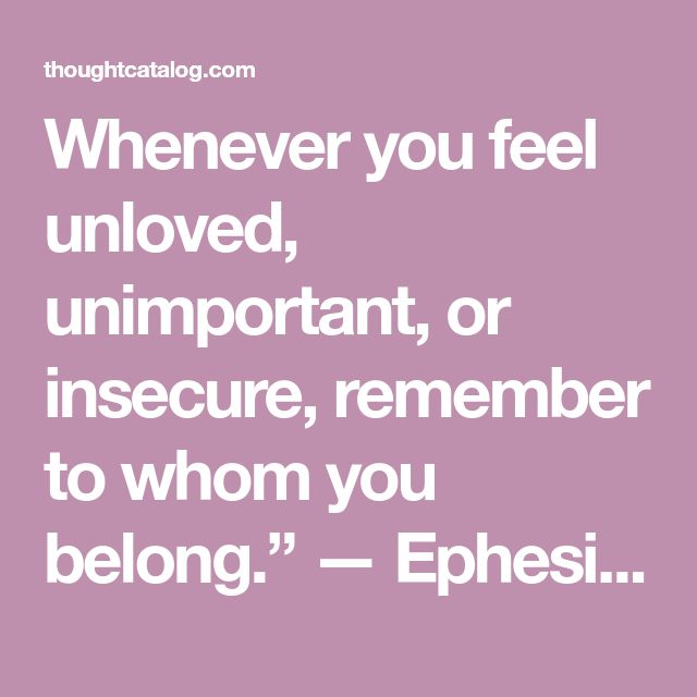 Sad Quotes About Depression: Best 25+ Feeling Unloved Quotes Ideas On Pinterest