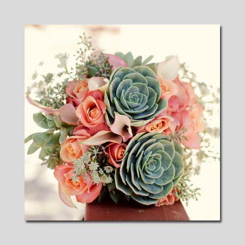Необычный букет — каменная роза, плоды эвкалипта, каллы | Country Flowers Club