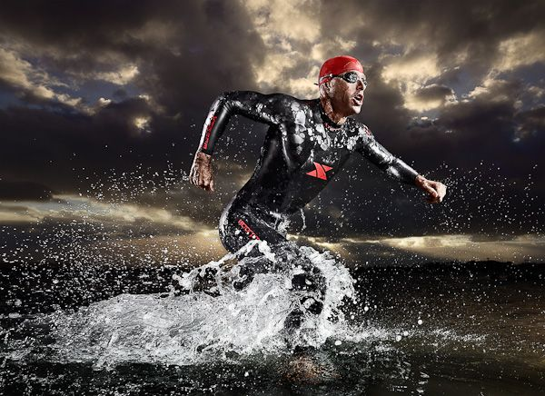 Xterra Triathlon Wetsuits by Tim Tadder, via Behance
