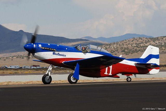 "Reno Air Races 2013 - North American P-51D Mustang ""Miss America""; s/n 44-74536, N991R   Flickr - Photo Sharing!"