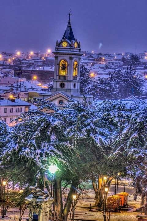 Beautiful Punta Arenas city