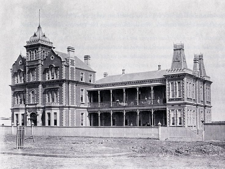 The Homeopathic Hospital that once stood on St Kilda Road replaced over time by…