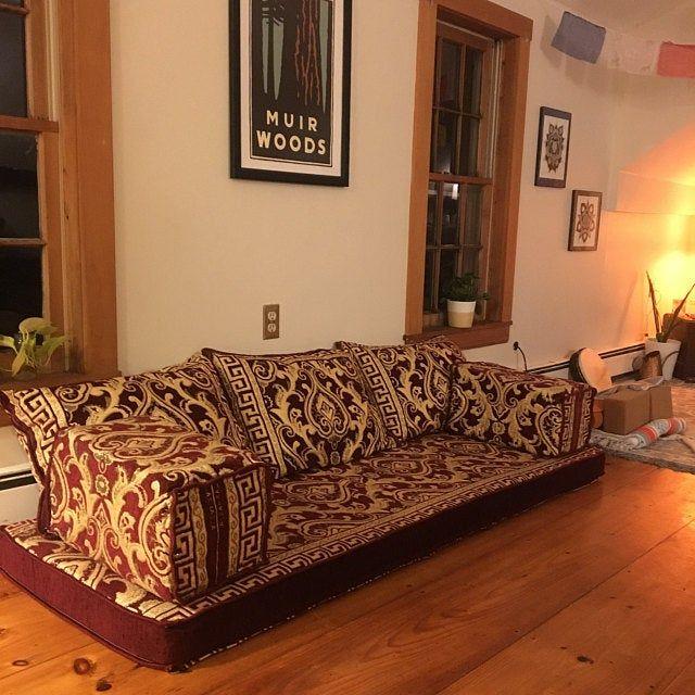 Arabic style majlis floor sofa set,floor couch,oriental floor seating ethnic sofa floor seating sofa bohemian furniture living room sofa