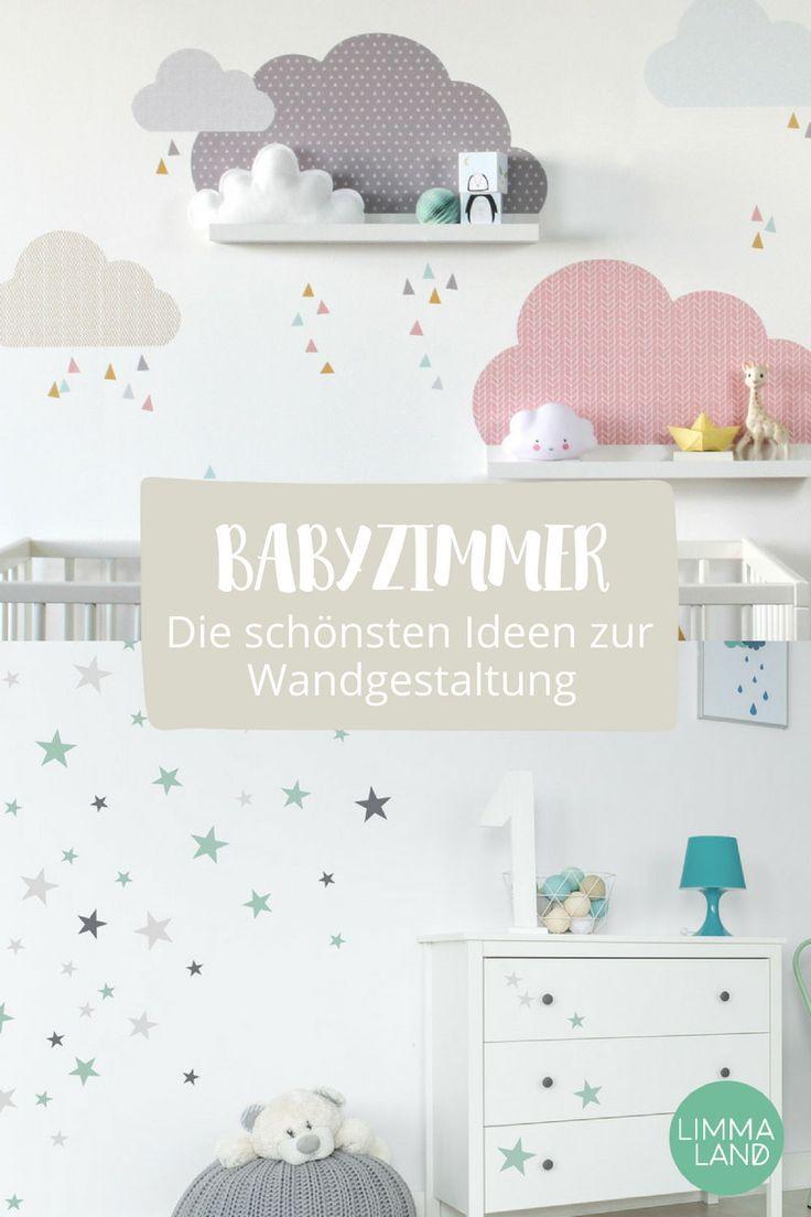 Wie gestalte ich schöne Wände im Babyzimmer? Ganz einfach: mit unseren  Wandtattoos. Wir haben eine große Auswahl und es sollte für jeden etwas da…