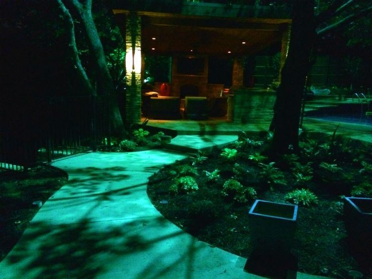 46 best moonlighting installations by dallas landscape lighting dallaslandscapelighting installs tree lighting in a way that creates a moonlighting effect aloadofball Choice Image